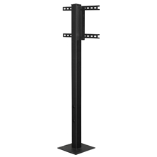 SunBrite® Outdoor Deck Planter Pole (Black)