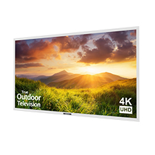 SunBrite™ Signature Series 4K Ultra HD Partial Sun Outdoor TV - 55' (White)