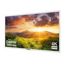 SunBrite™ Signature Series 4K Ultra HD Partial Sun Outdoor TV - 65' (White)