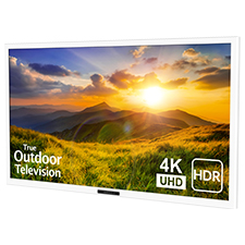 SunBrite™ Signature 2 Series 4K Ultra HDR Partial Sun Outdoor TV - 43' | White