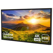 SunBrite™ Signature 2 Series 4K Ultra HDR Partial Sun Outdoor TV - 55' | Black