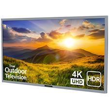SunBrite™ Signature 2 Series 4K Ultra HDR Partial Sun Outdoor TV - 55' | Silver
