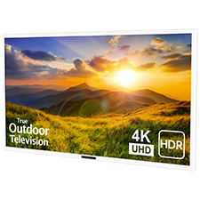 SunBrite™ Signature 2 Series 4K Ultra HDR Partial Sun Outdoor TV - 55' | White