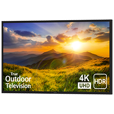 SunBrite™ Signature 2 Series 4K Ultra HDR Partial Sun Outdoor TV - 65' | Black