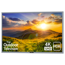 SunBrite™ Signature 2 Series 4K Ultra HDR Partial Sun Outdoor TV - 65' | Silver