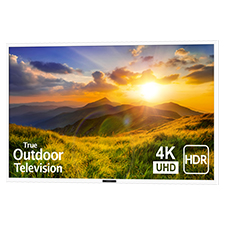 SunBrite™ Signature 2 Series 4K Ultra HDR Partial Sun Outdoor TV - 65' | White