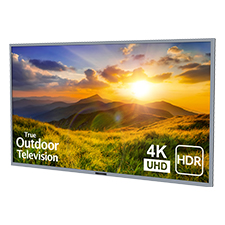 SunBrite™ Signature 2 Series 4K Ultra HDR Partial Sun Outdoor TV - 75' | Silver