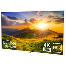 SunBrite™ Signature 2 Series 4K Ultra HDR Partial Sun Outdoor TV - 75' | White