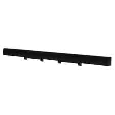 SunBriteTV® 2-Channel Passive Soundbar for Outdoor TVs from 65'-86' (Black)