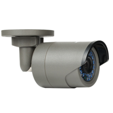 Luma Surveillance™ 300 Series Mini Bullet IP Outdoor Camera | Gray
