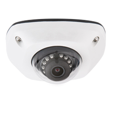 Luma Surveillance™ 300 Series Mini Dome IP Outdoor Camera | White