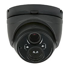 Luma Surveillance™ 300 Series Turret Analog Camera | Black