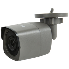 Luma Surveillance™ 410 Series Bullet IP Outdoor Camera | Gray