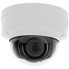 Luma Surveillance™ 410 Series Dome IP Outdoor Camera | White