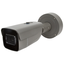 Luma Surveillance™ 710 Series Bullet IP Outdoor Camera with Heater | Gray