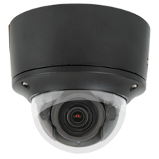 Luma Surveillance™ 710 Series Dome IP Outdoor Camera with Heater | Black