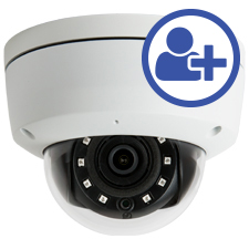 Visualint™ 2MP IP Dome Outdoor Camera with Starlight + Virtual Technician