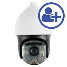 Visualint™ 2MP IP Auto Tracking PTZ Outdoor Camera with Super Starlight + Virtual Technician