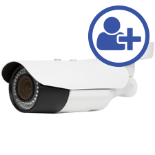 Visualint™ 2MP IP Bullet Outdoor Camera with Starlight and Motorized Lens + Virtual Technician