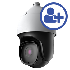 Visualint 2MP IP PTZ Outdoor Camera with Starlight + Virtual Technician