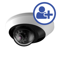 Visualint™ 2MP IP Mini Dome Indoor Camera with Starlight + Virtual Technician