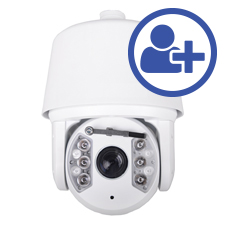 Visualint™ 2MP IP Auto Tracking PTZ Outdoor Camera with Starlight + Virtual Technician