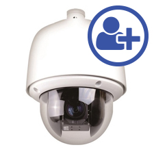Visualint™ 3MP IP Auto Tracking PTZ Outdoor Camera + Virtual Technician