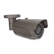 Wirepath™ Surveillance 750 Series Bullet Outdoor Camera with Heater - Gray