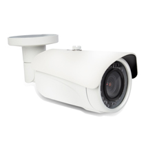 Wirepath™ Surveillance 750 Series Bullet Outdoor Camera with Heater - White