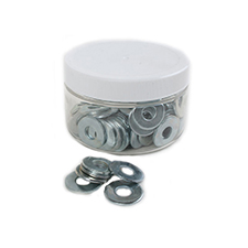 USS Flat Washers - 1/4' (Jar of 100)