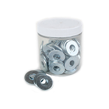 USS Flat Washers - 3/8' (Jar of 100)