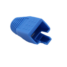 Platinum Tools™ RJ45 Boot for CAT6a (Blue | 8.0mm)