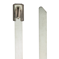 Platinum Tools™ Cable Tie - 8', 304 Stainless Steel, 250 lb