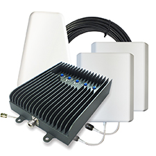 SureCall Fusion5s Cellular Signal Booster Kit - Yagi/Panel