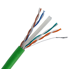 Wirepath™ Cat 6 550MHz Unshielded Wire - 1000 ft. Nest in Box (Green)