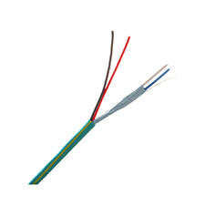 Wirepath™ 2-Conductor Shielded + 2-Conductor Unshielded Wire - 1000 ft. Spool in Box