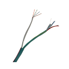 Binary™ 2-Conductor Shielded + 2-Conductor Unshielded + Single 350 MHz Cat 5e Wire - 500 ft. Drum