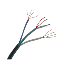 Wirepath™ 2-Conductor Shielded + 2-Conductor Unshielded + Dual 350 MHz Cat 5e Wire - 500 ft. Drum