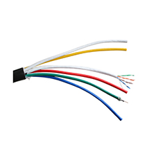 Binary™  5-Conductor Mini RG59/U + Single 350 MHz Cat 5e Wire - 500 ft. Drum