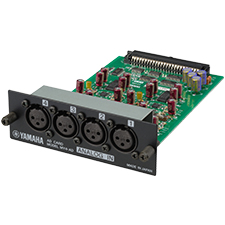 Yamaha Pro 4-Channel Line Level Analog Input Card