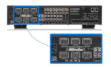 Autonomic Mirage eSeries Digital Amplifier | 50W x 12 Channels