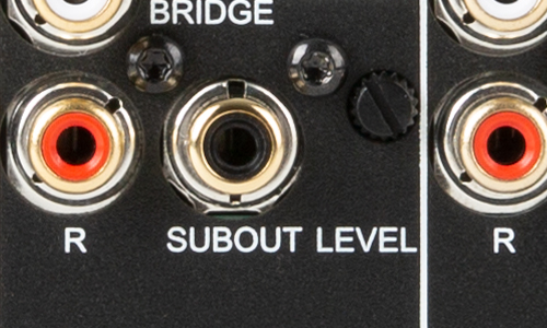 Upclose image of the subout level connection