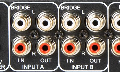 bridge inputs of Episode Dynamic Amp
