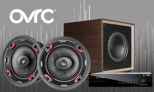 Family shot of speakers, amp, and AVR