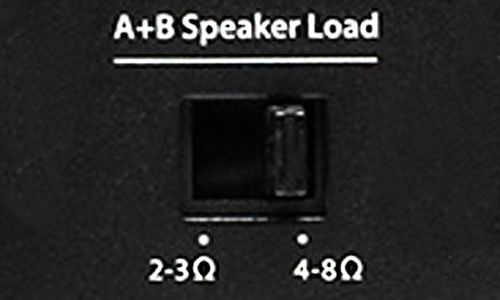 Load Selector Switch on amp