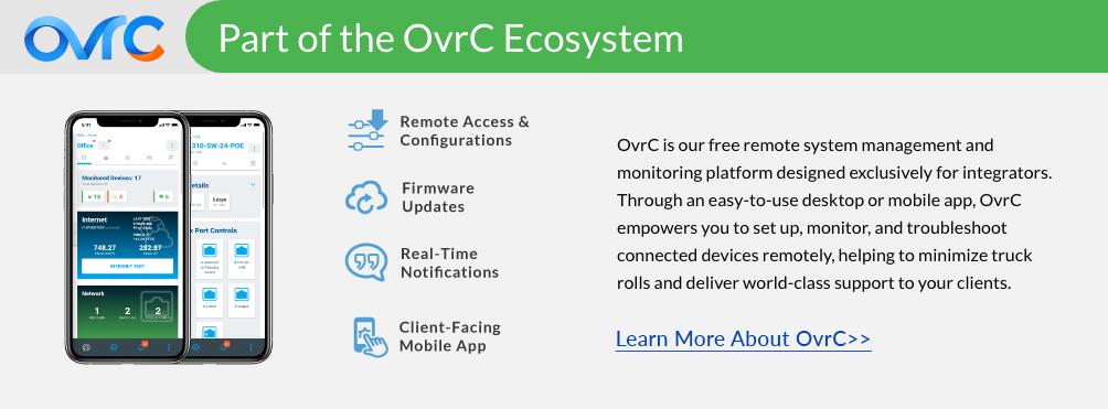 OvrC Info banner