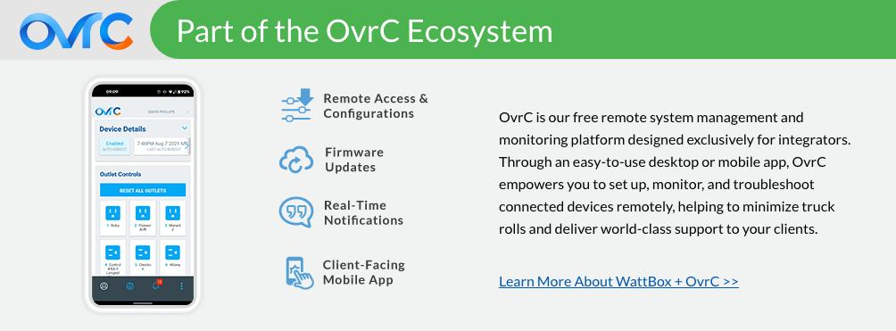 Wattbox OvrC Info banner