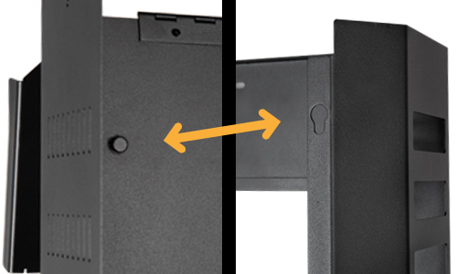 Strong® Vertical Wall Mount Rack | SnapAV