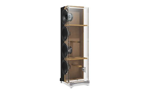 KEF Q750 Cabinet Design