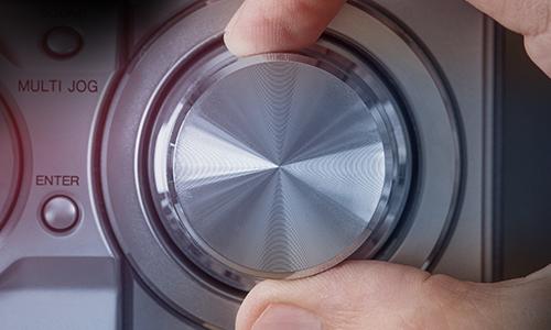 Image of a volume knob